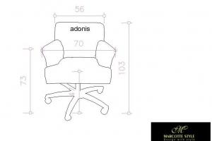 Residentiële bureaustoel ADONIS