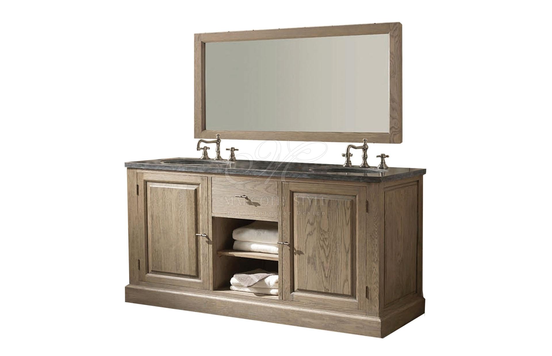Newmarc badkamermeubels marcottestyle - Foto badkamer meubels ...