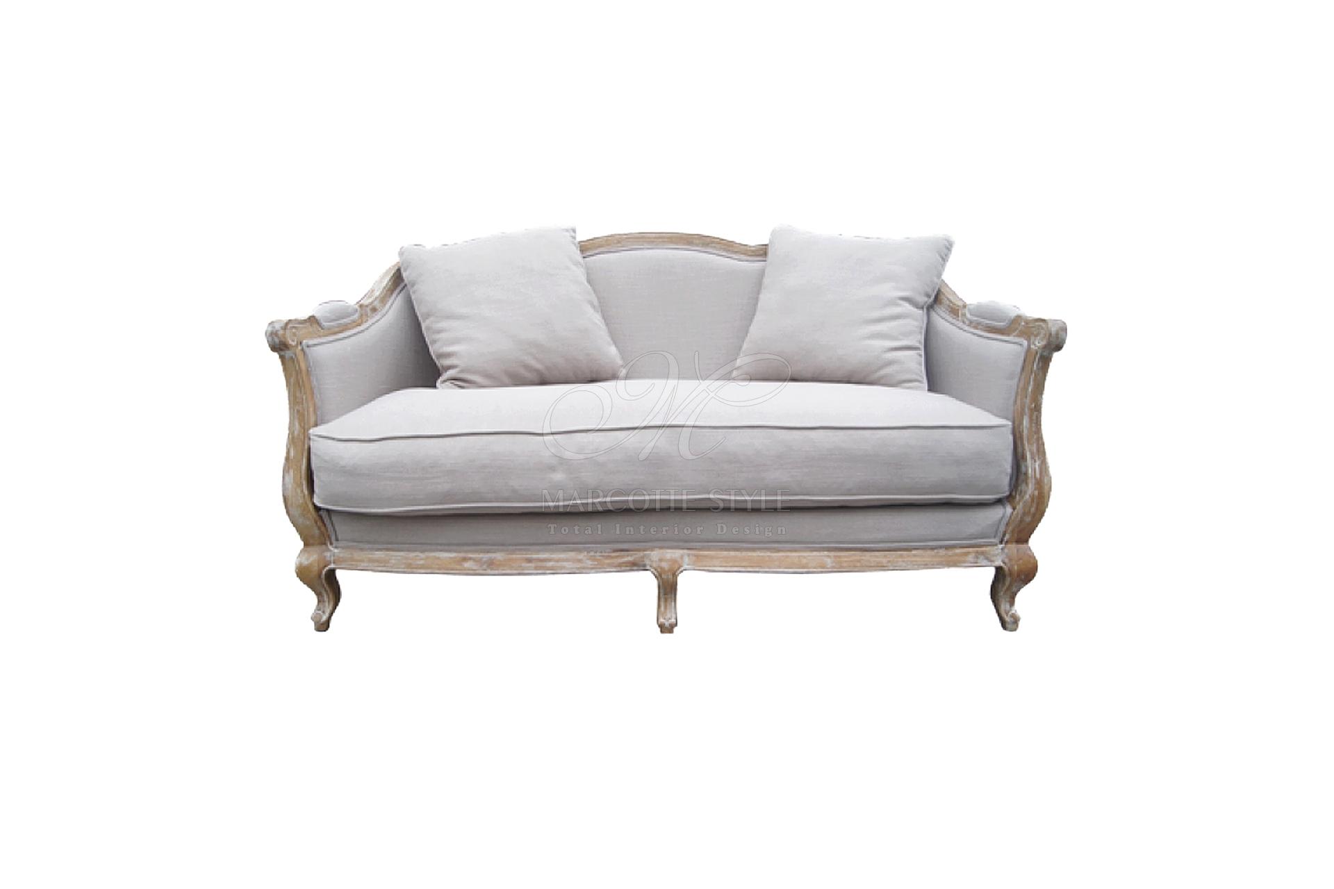 Klassieke sofa sphinx marcottestyle for Sofa 2 meter
