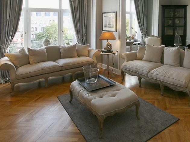 Klassieke sofas en zetels
