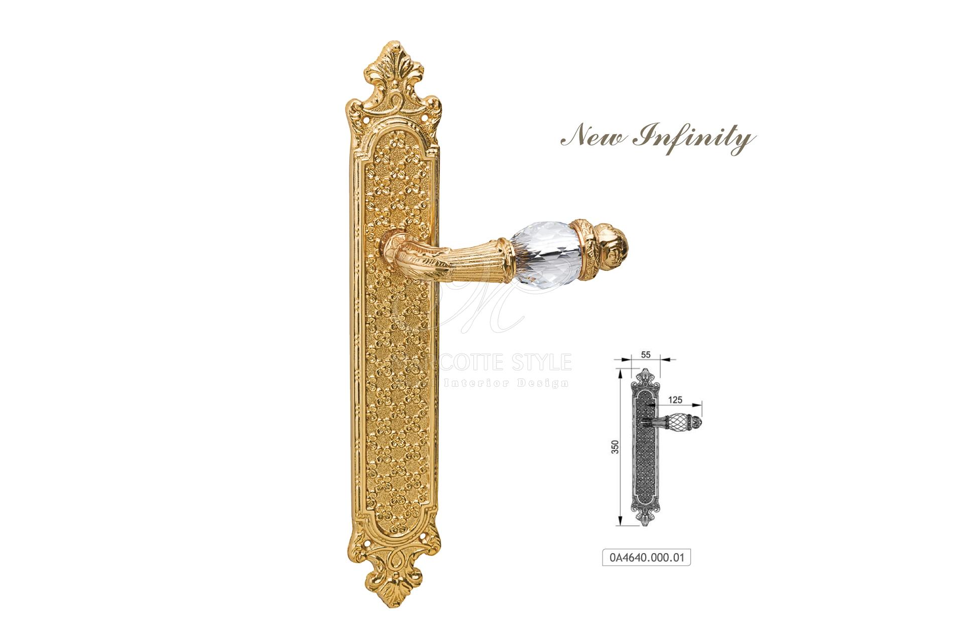 Marcottestyle gouden klinken new infinity oa marcotte style