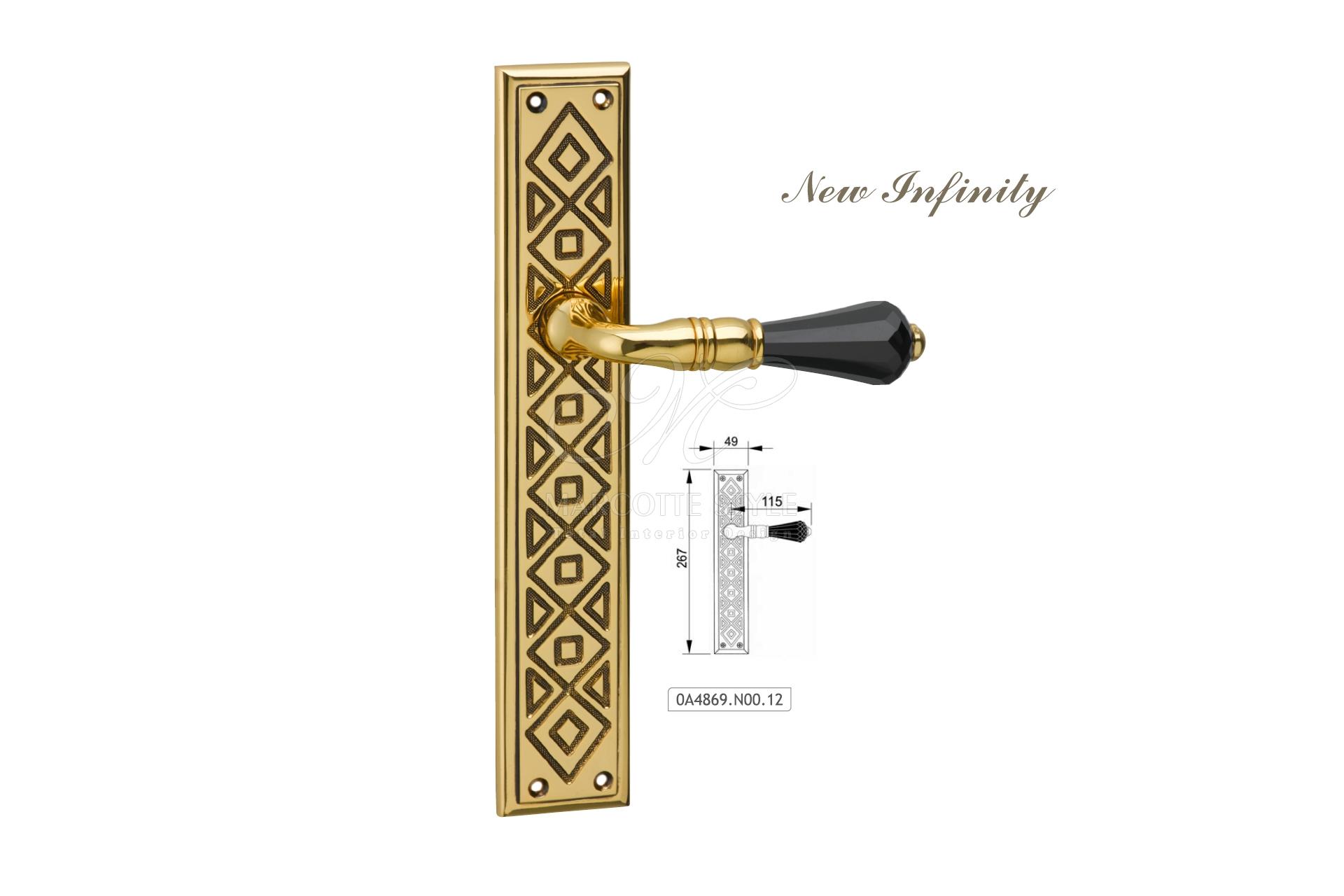 Marcottestyle gouden klinken new infinity oa n