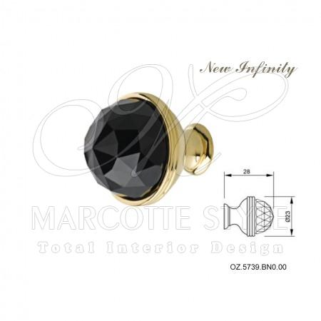 Marcottestyle-handgrepen-goud-black-Swarovski