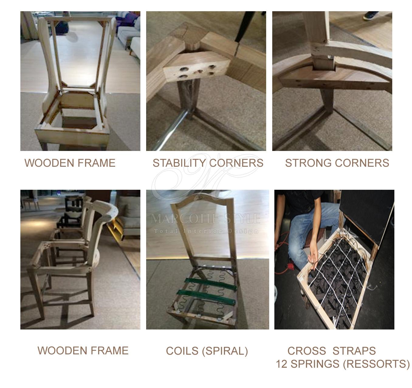 klassieke stoel Chronos - Marcottestyle
