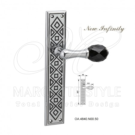 Marcottestyle-swarovski-deurklinken-new-infinity-OA.4840.N00.50