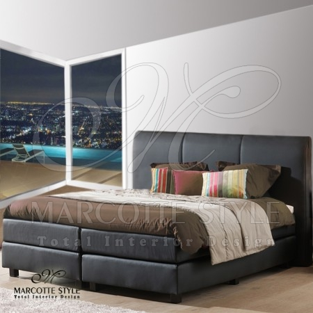 marcottestyle-boxspring-met-topper-axelsson