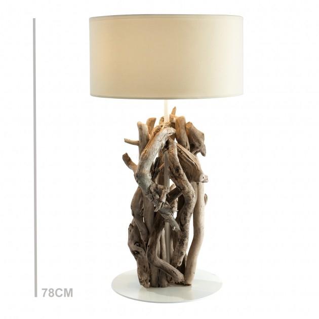 Marcottestyle-drijfhouten-lamp