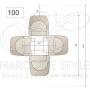 Marcottestyle-plan-tafel-100
