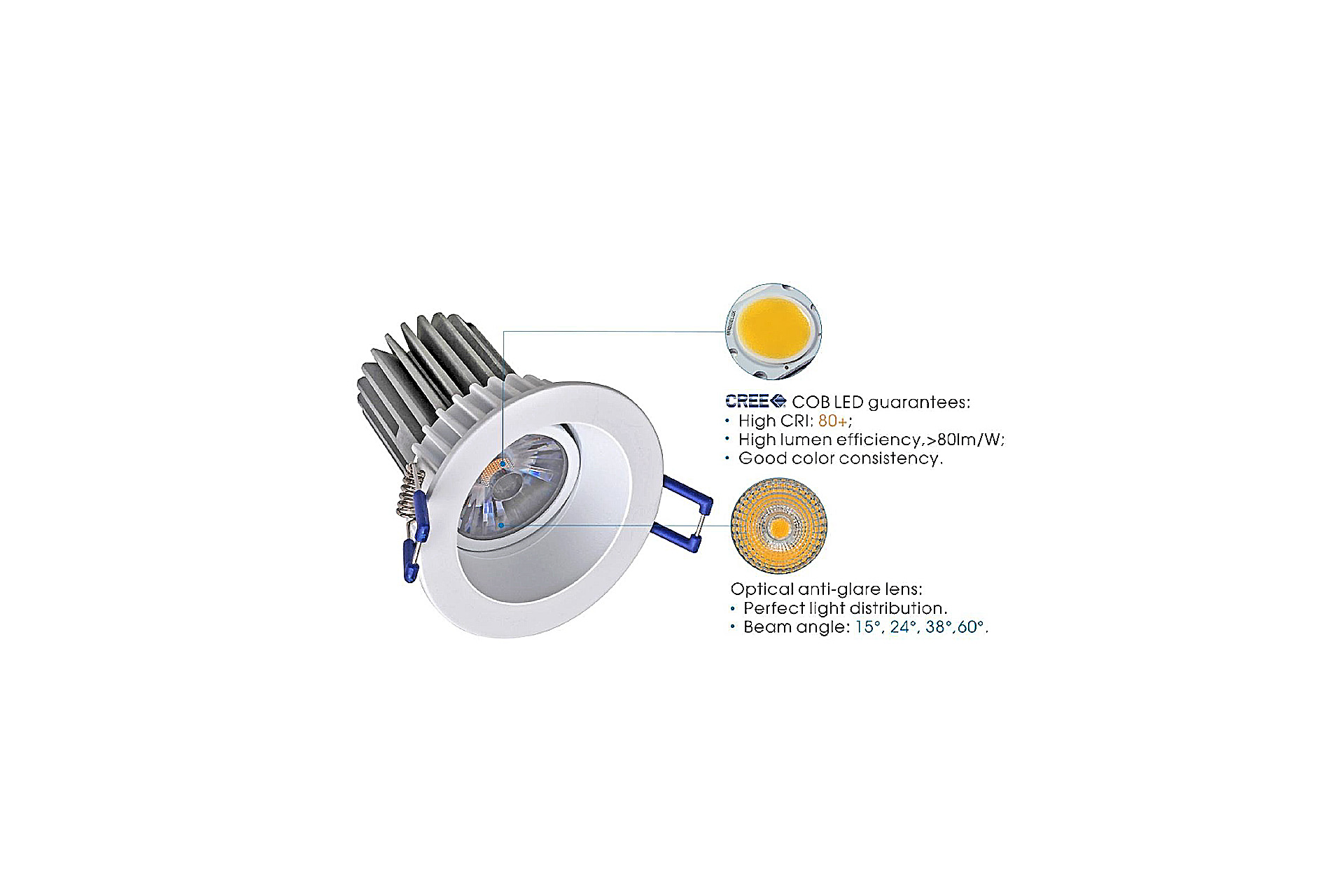 Marcottestyle led spots dle marcotte style