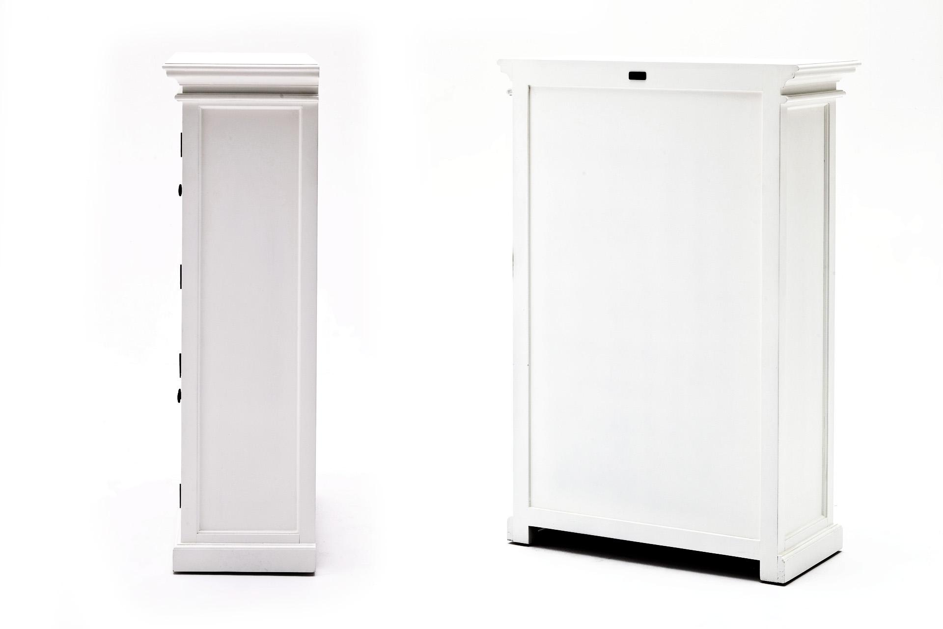 Kast Wit Hout : De steigeraar wit tv meubel met eiken laden