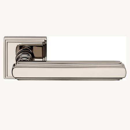 nikkel modern deurklink